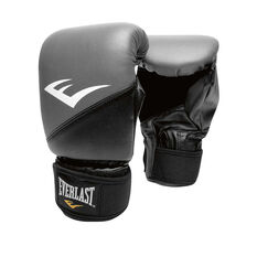 Everlast Everstrike Training Boxing Gloves Black / Grey S / M, Black / Grey, rebel_hi-res