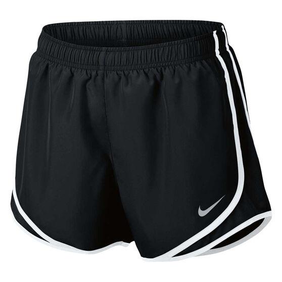 Nike Womens Dry Tempo Running Shorts Black XL, Black, rebel_hi-res