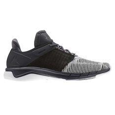 Reebok Fast Flexweave Mens Running Shoes Grey / White US 6, Grey / White, rebel_hi-res