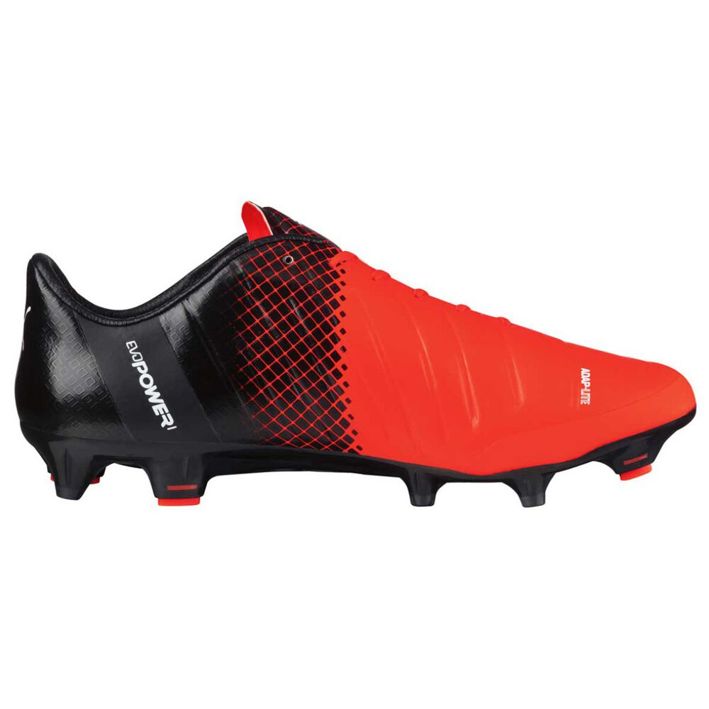 af1f0e441a9 Puma EvoPOWER 1.3 Mens Football Boots Red / Black US 9 Adult, Red / Black