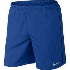 "Nike Mens 2"" Lined Running Shorts Dark Indigo S, Dark Indigo, rebel_hi-res"