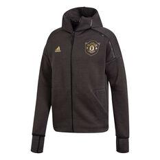 Manchester United 2019/20 Mens Z.N.E 3.0 Jacket, Black, rebel_hi-res