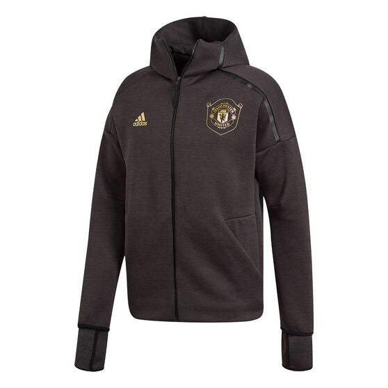Manchester United 2019/20 Mens Z.N.E 3.0 Jacket, Black, rebel_hi-res