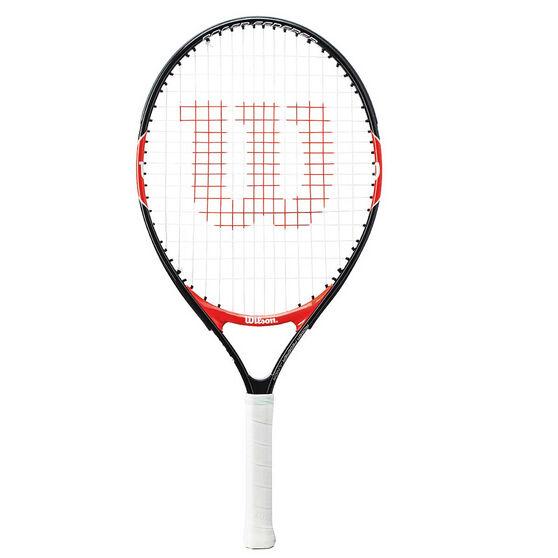 Wilson Federer 23in Junior Tennis Racquet Black / Red 23in, , rebel_hi-res