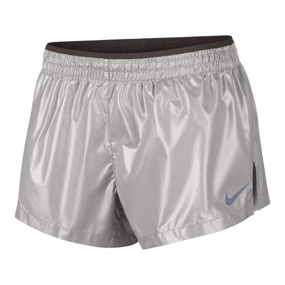 Nike Womens Elevate Metallic Running Shorts, , rebel_hi-res