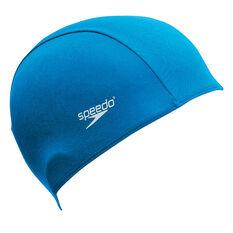 Speedo Polyester Junior Swim Cap, , rebel_hi-res