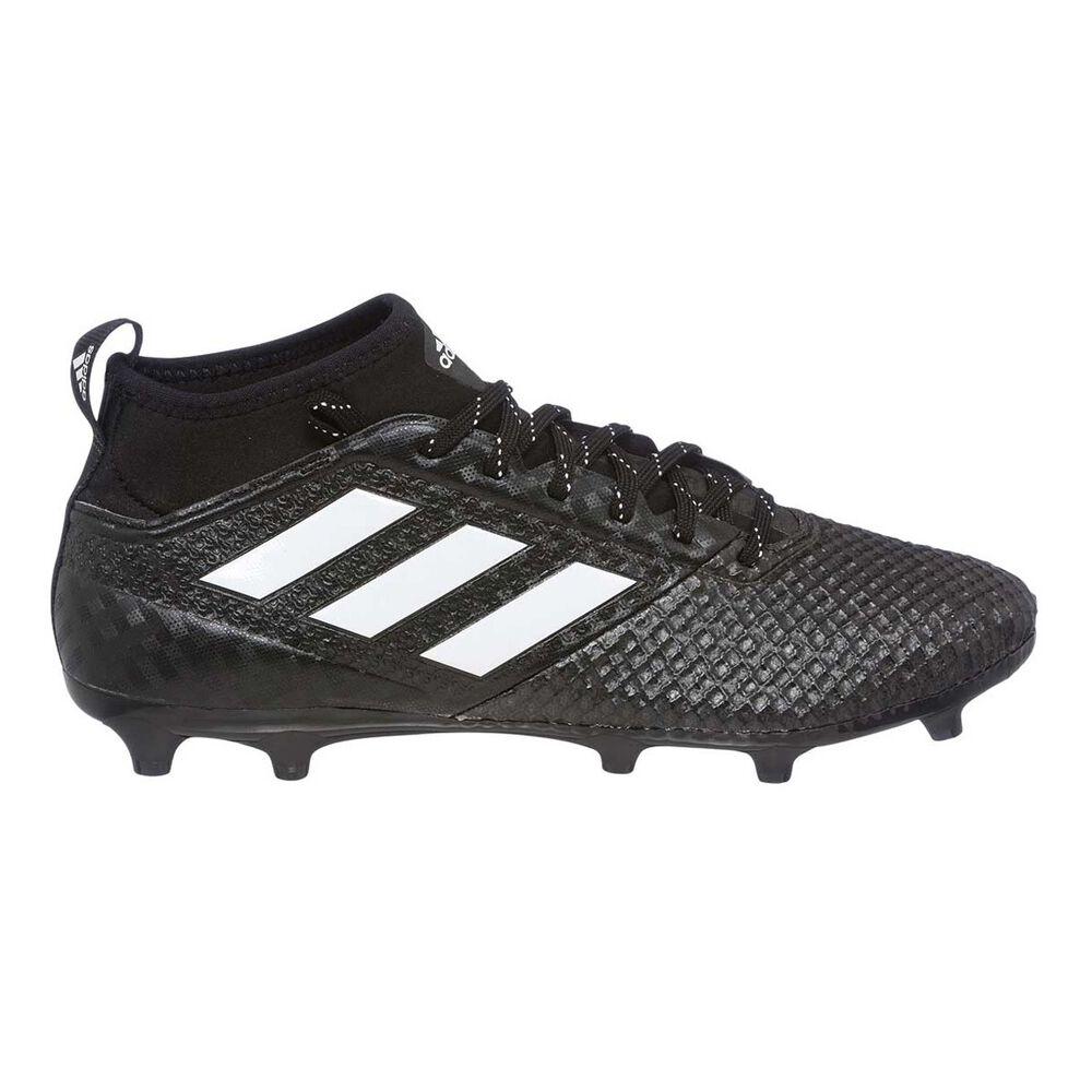 adidas ACE 17.3 Primemesh Mens Football Boots Black   White US 8 Adult 763b00357921