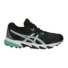 Asics Gel Trigger 12 Womens Cross Training Shoes Black / Silver US 6, Black / Silver, rebel_hi-res