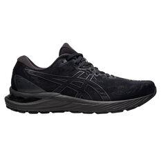 Asics GEL Cumulus 23 Mens Running Shoes Black/Grey US 8, , rebel_hi-res