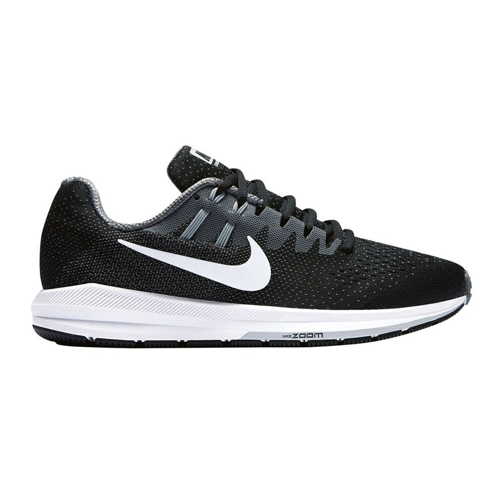 new arrival cb12b d6ed5 Nike Air Zoom Structure 20 Womens Running Shoes Black   White US 7.5, Black