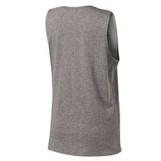 Running Bare Womens Easy Rider Muscle Tank Grey 8, Grey, rebel_hi-res