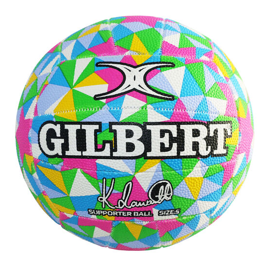 Kim Ravaillion Signature Gilbert Netball, , rebel_hi-res
