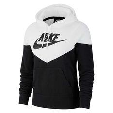 daf023424 Nike Womens Sportswear Heritage Hoodie Black XS