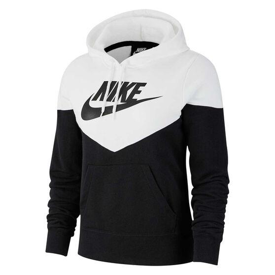 new arrival 1c72c f1501 Nike Womens Sportswear Heritage Hoodie Black XS