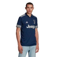 Juventus FC 2020/21 Mens Away Jersey, Blue, rebel_hi-res