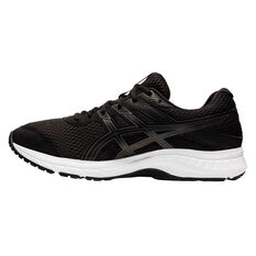 Asics GEL Contend 6 4E Mens Running Shoes Black / Grey US 12, Black / Grey, rebel_hi-res