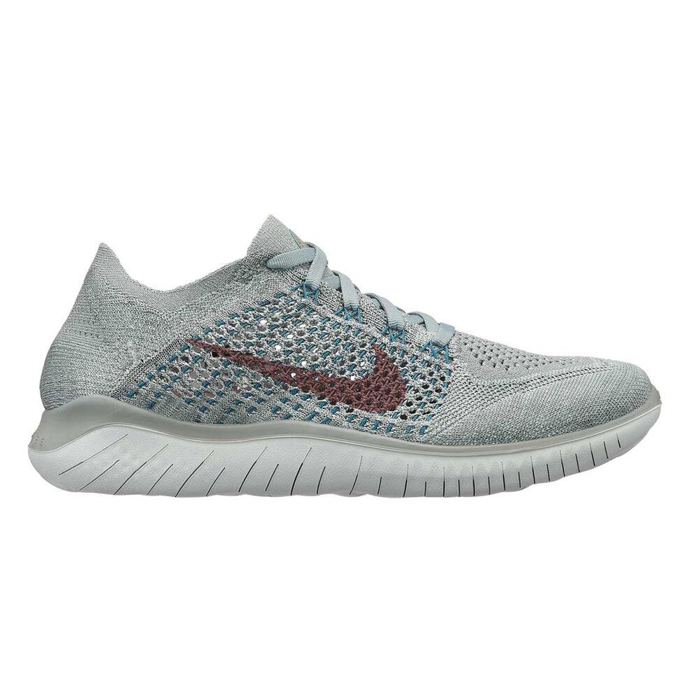 8ef06ba2f2e Free RN Flyknit 2018 Womens Running Shoes Green   Silver US 7 ...
