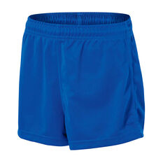 Burley Sekem Boys Pull On Baggy Shorts Royal Blue 4, Royal Blue, rebel_hi-res