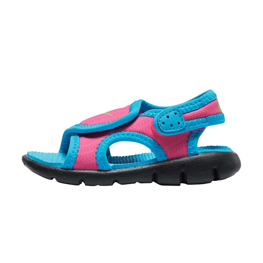 new style e2908 922ec Nike Sunray Adjust 4 Toddlers Sandals Pink   Blue US 5, Pink   Blue,