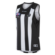 Collingwood Magpies AFLW 2020 Womens Home Guernsey Black/White XS, Black/White, rebel_hi-res