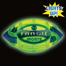 Tangle NightBall Football Small, , rebel_hi-res