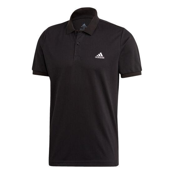 adidas Mens Polo, Black, rebel_hi-res