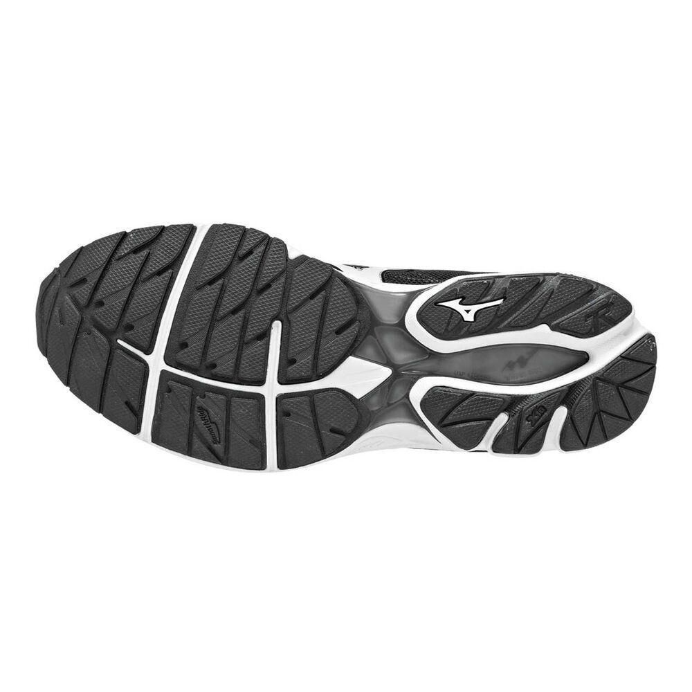 68248ea04089 Mizuno Wave Rider 20 Mens Running Shoes Black   White US 8