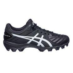 Asics GEL Lethal Ultimate IGS 12 Mens Football Boots Black / White US 7.5 Adult, Black / White, rebel_hi-res