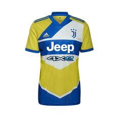 Juventus 2021/22 Men's Replica Third Jersey Yellow S, Yellow, rebel_hi-res