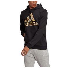 Adidas Mens Camo Hoodie, Black, rebel_hi-res