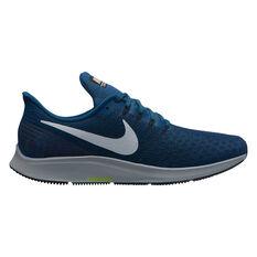 Nike Air Zoom Pegasus 35 Mens Running Shoes Black US 7, Black, rebel_hi-res