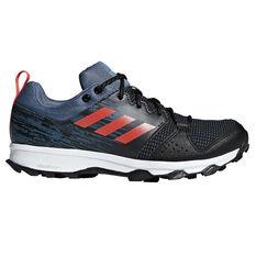 adidas Galaxy Mens Trail Running Shoes Black / Grey US 6, Black / Grey, rebel_hi-res