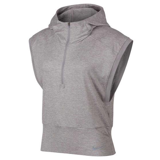 the best attitude f9284 b9103 Nike Womens Element Sleeveless Hoodie, Grey, rebel hi-res