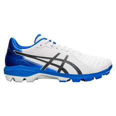Asics Lethal Ultimate Football Boots White / Black US Mens 7 / Womens 8.5, White / Black, rebel_hi-res