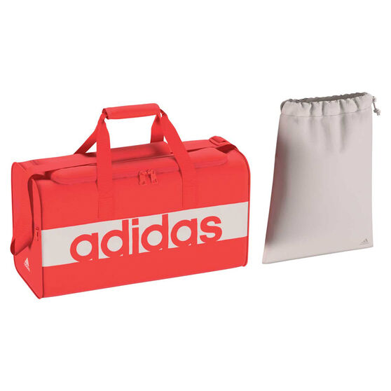 adidas Linear Team Sports Bag Coral, , rebel_hi-res