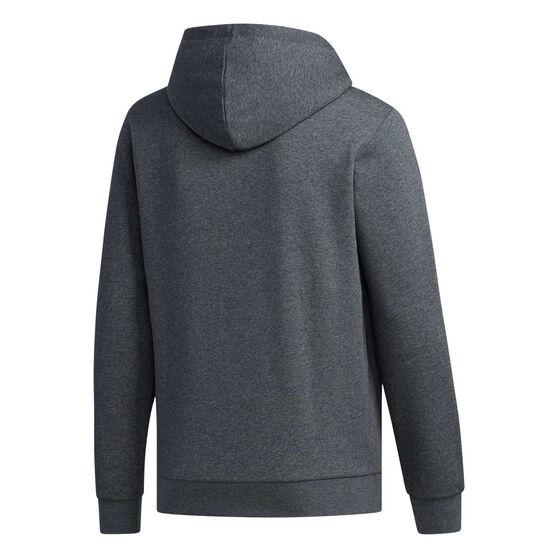 adidas Mens Essentials Colourblock Hoodie, Grey, rebel_hi-res