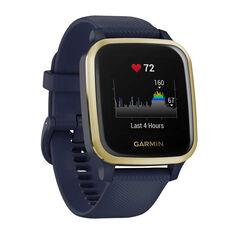 Garmin Venu Sq Music GPS Smartwatch - Navy Light Gold, , rebel_hi-res