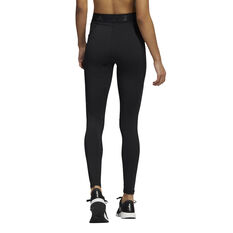 adidas Womens Techfit Reflective Tights, Black, rebel_hi-res