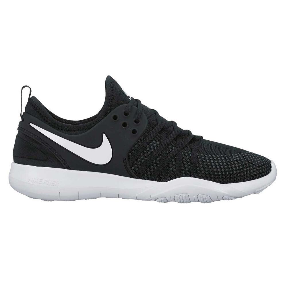 3e78d44b0fc47 Nike Free Train 7 Womens Training Shoes Black   White US 7.5