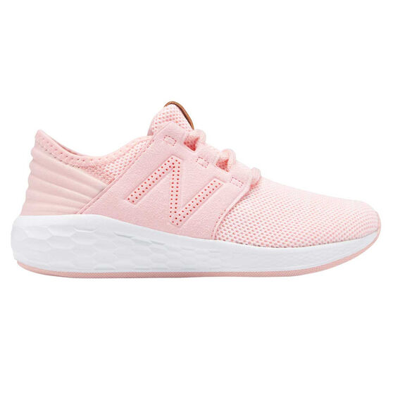 hot sale online 8d81a ecccc New Balance Fresh Foam Cruz Kids Running Shoes, Pink, rebel hi-res