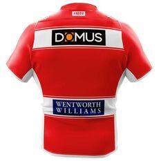 St George Illawarra Dragons 2018 Mens Away Jersey Red / White S, Red / White, rebel_hi-res