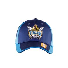 Gold Coast Titans 2020 Media Cap, Blue, rebel_hi-res