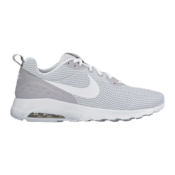 promo code 241be 7876b Nike Air Max Motion Low Mens Casual Shoes Grey   White US 7, Grey
