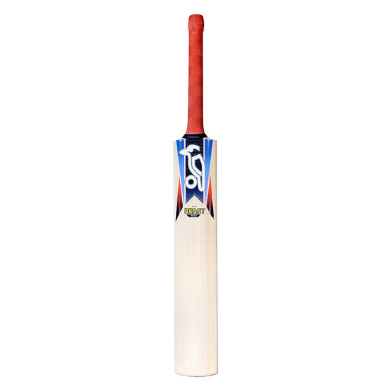 Kookaburra Retro Beast 8.0 KW Junior Cricket Bat, Blue, rebel_hi-res