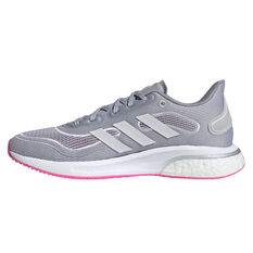 adidas Supernova Womens Running Shoes Silver/White US 6, Silver/White, rebel_hi-res