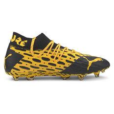 Puma Future 5.1 Netfit Football Boots Yellow / Black US 7, Yellow / Black, rebel_hi-res