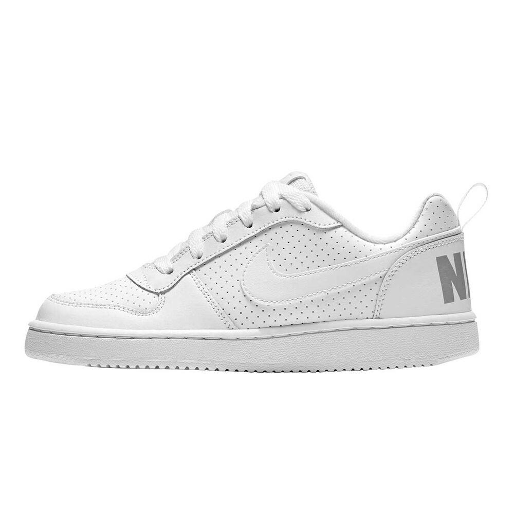 pretty nice 3f173 1fa38 Nike Court Borough Low Boys Shoes White US 5, White, rebelhi-res