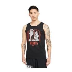 Nike Mens Dri-FIT Training Tank Black XS, Black, rebel_hi-res