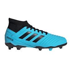 adidas Predator 19.3 Kids Football Boots Blue / Black US 11, Blue / Black, rebel_hi-res