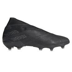 adidas Nemeziz 19+ Football Boots Black US Mens 7 / Womens 8, Black, rebel_hi-res